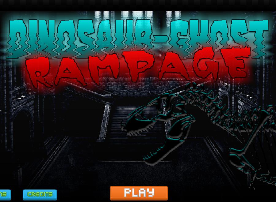 Dinosaur-Ghost Rampage
