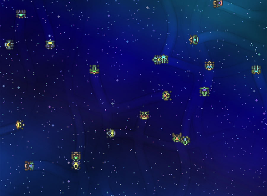 Pixel Ships